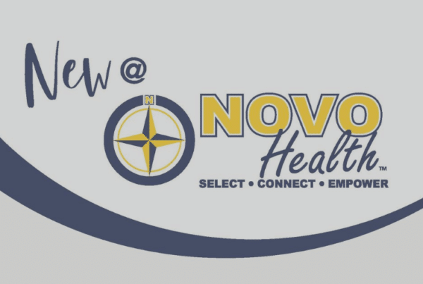 NOVO Live Logo a magazine from NOVO Health